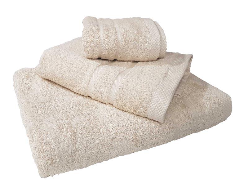 Πετσέτα Le Blanc Πεννιέ 600γρ/μ² Beige Χειρός 40X60 - 1246-1
