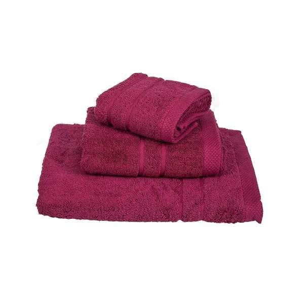 Πετσέτα Le Blanc Πεννιέ 600γρ/μ² Crimson Προσώπου 50X95 - 1028-2