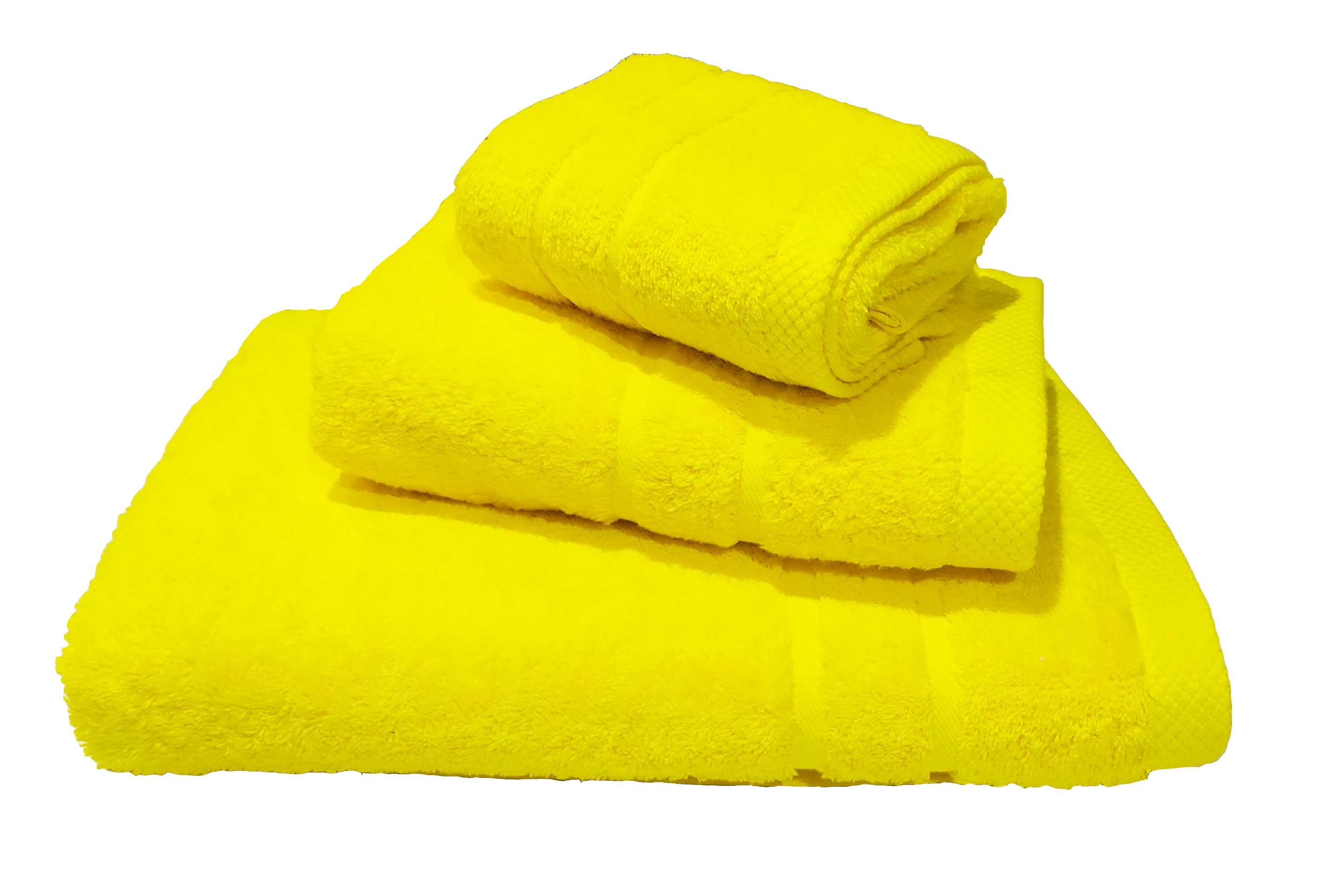 Πετσέτα Le Blanc Πεννιέ 600γρ/μ² Yellow Μπάνιου 80Χ145 - 1528-3