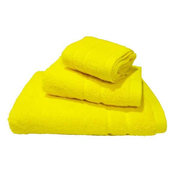 Σετ Πετσέτες 3 τμχ Le Blanc Πεννιέ 600γρ/μ² Yellow (40X60, 50X95, 80X145) - 1528-4