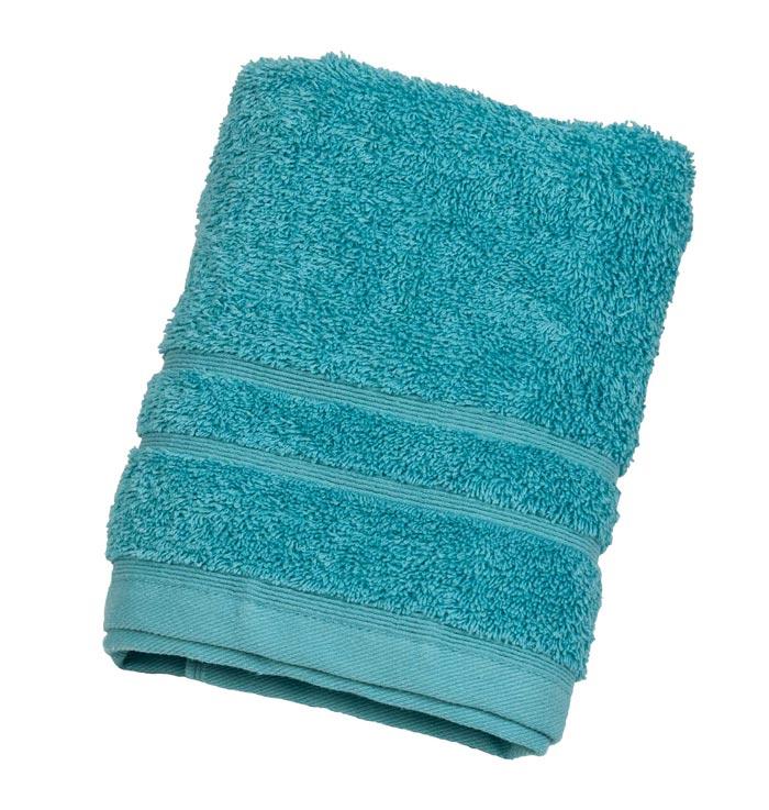 Πετσέτα ΚΟΜΒΟΣ Πεννιέ 500γρ/μ² Πετρόλ Σώματος 75x145 - 1267-3