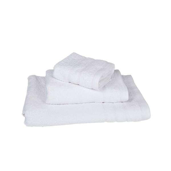 Λευκή πετσέτα λουτρού πενιέ 75Χ145 500γρ/τ.μ - 364-3