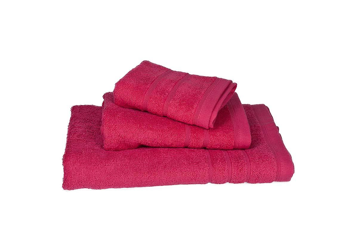 Φούξια πετσέτα λουτρού πενιέ 75Χ145 500γρ/τ.μ - 376-3