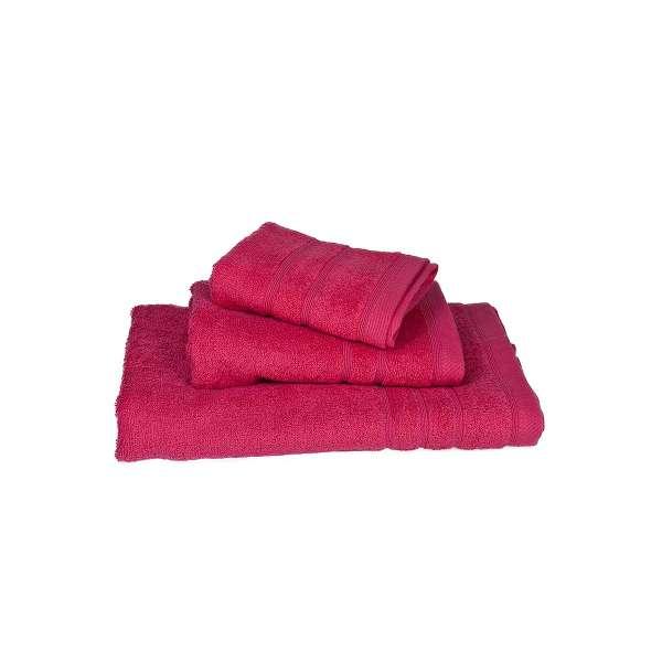 Φούξια πετσέτα προσώπου πενιέ 50Χ90 500γρ/τ.μ - 376-2