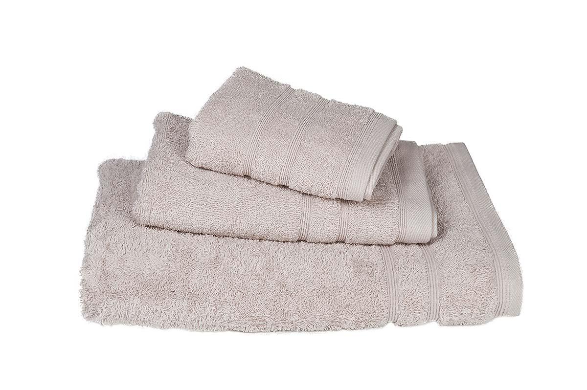 Πετσέτα ΚΟΜΒΟΣ Πεννιέ 500γρ/μ² Άμμου Σώματος 75x145 - 408-3