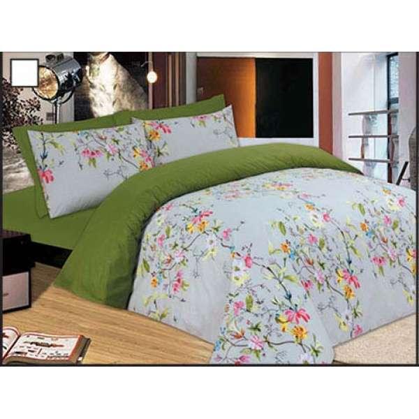 Mαξιλαροθήκες 50Χ70 ζεύγος Flowers Green - 898-4