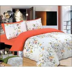 Σετ πάπλωματος μονό-ημίδιπλο 160Χ240 Flowers Peach - 900-13