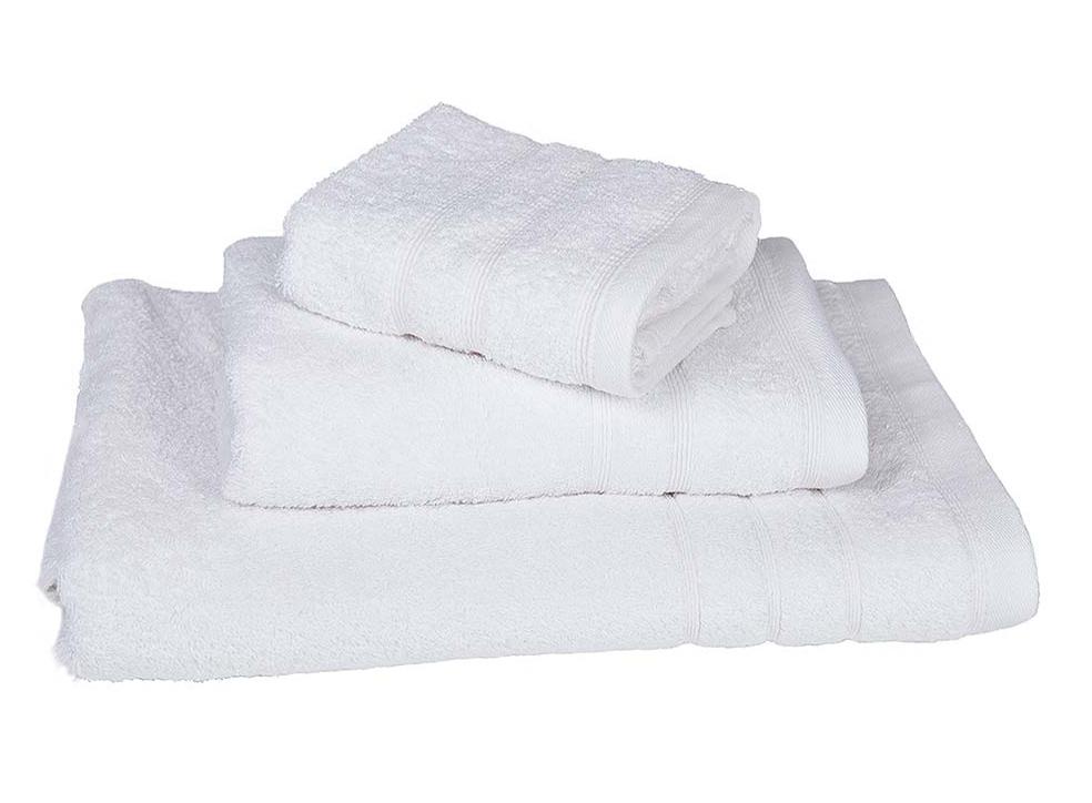 Πετσέτα μπάνιου 75X145 ξενοδοχειακή με μπορντούρα 500gsm - 639-3