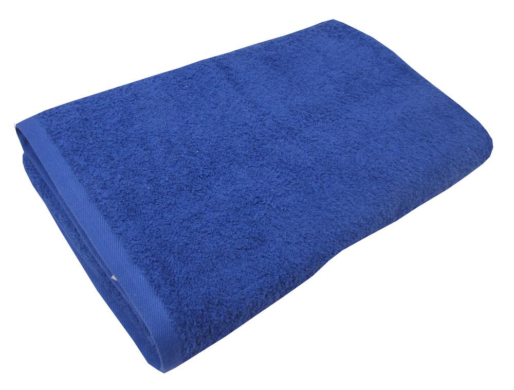 Μπλέ πετσέτα πισίνας-σπα 80Χ160 ξενοδοχειακή 100% βαμβακερή 450 γραμμαρίων/τ.μ - 1331
