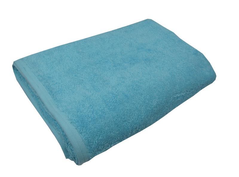 Τυρκουάζ πετσέτα πισίνας-σπα 80Χ160 ξενοδοχειακή 100% βαμβακερή 450 γραμμαρίων/τ.μ - 1332