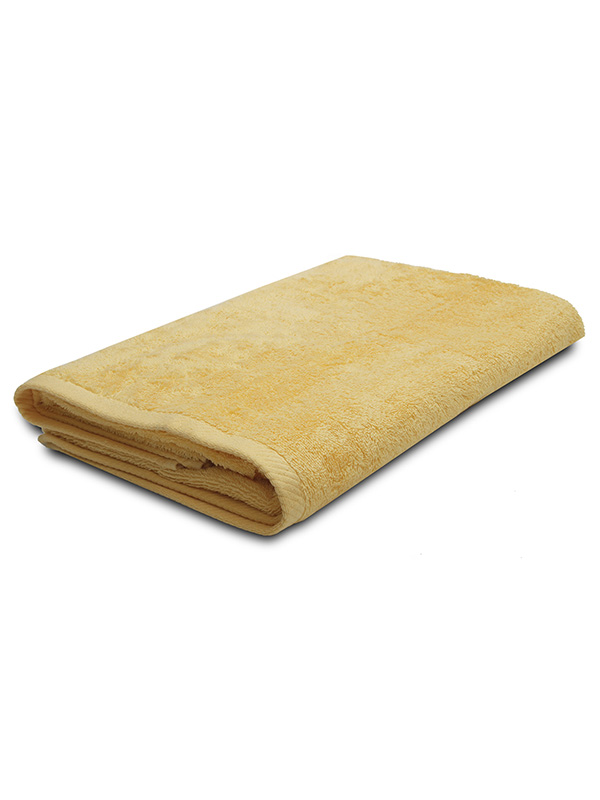 Κίτρινη Πετσέτα Πισίνας-Σπα 80Χ160 Ξενοδοχειακή 100% Βαμβακερή 480 γραμμαρίων/τ.μ - 1610