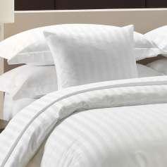 Μαξιλαροθήκη Ξενοδοχειακή Ideato Oxford 50Χ70+4 100% Βαμβακοσατέν 300 κλωστών  με Ρίγα 2,5 εκ. - 70000012822-9