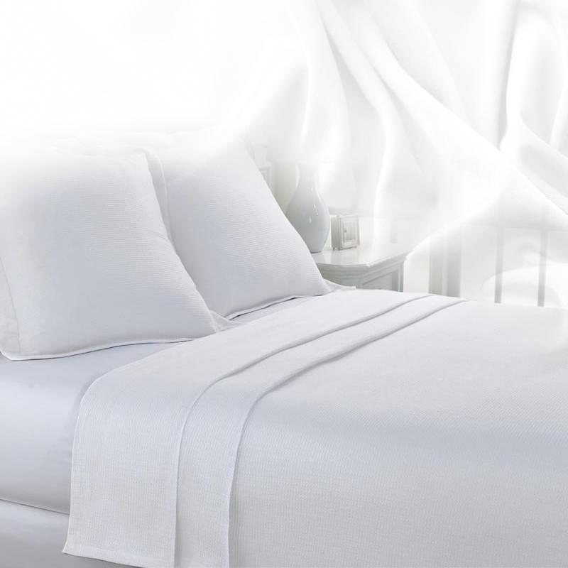 Σεντόνι μονό-ημίδιπλο 160Χ270 100% βαμβακερό ξενοδοχειακό 170 κλωστών - 723-1-6