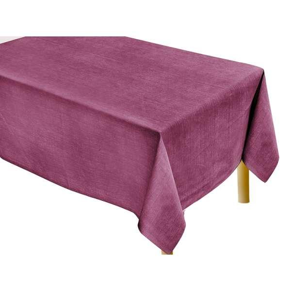 Μπορντώ Μονόχρωμο Τραπεζομάντηλο Κουζίνας Tετράγωνο 140Χ140 - 2563-1