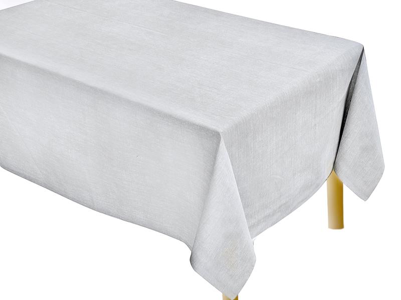 Εκρού Μονόχρωμο Τραπεζομάντηλο Κουζίνας Tετράγωνο 140Χ140 - 2564-1