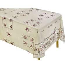 Φλοράλ Τραπεζομάντηλο Κουζίνας Tετράγωνο 140Χ140 - 2577-1