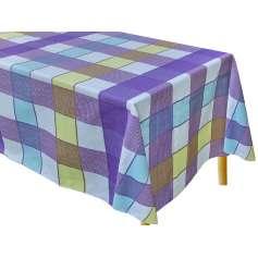 Καρώ Τραπεζομάντηλο Κουζίνας Tετράγωνο 140Χ140 - 2581-1