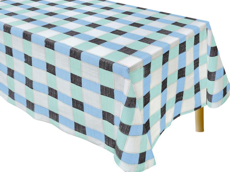 Καρώ Τραπεζομάντηλο Κουζίνας Tετράγωνο 140Χ140 - 2594-1