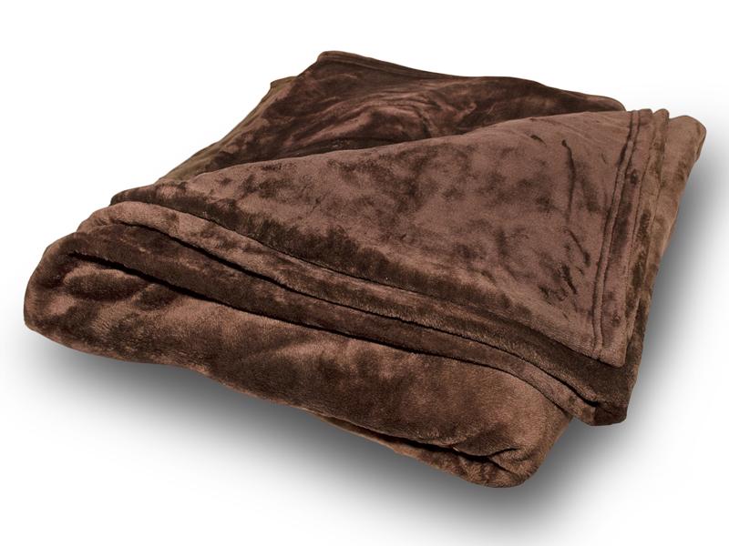 Σοκολά Κουβέρτα Coral Fleece Διπλή 200Χ240 - 80000010000-1