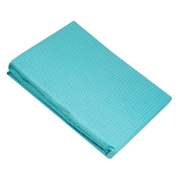 Τυρκουάζ κουβέρτα πικέ υπέρδιπλη sanforized 220Χ245 - 1255-2