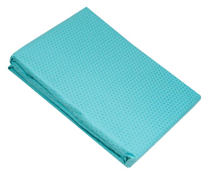 Τυρκουάζ κουβέρτα πικέ υπέρδιπλη sanforized 220Χ245 - 3255-2