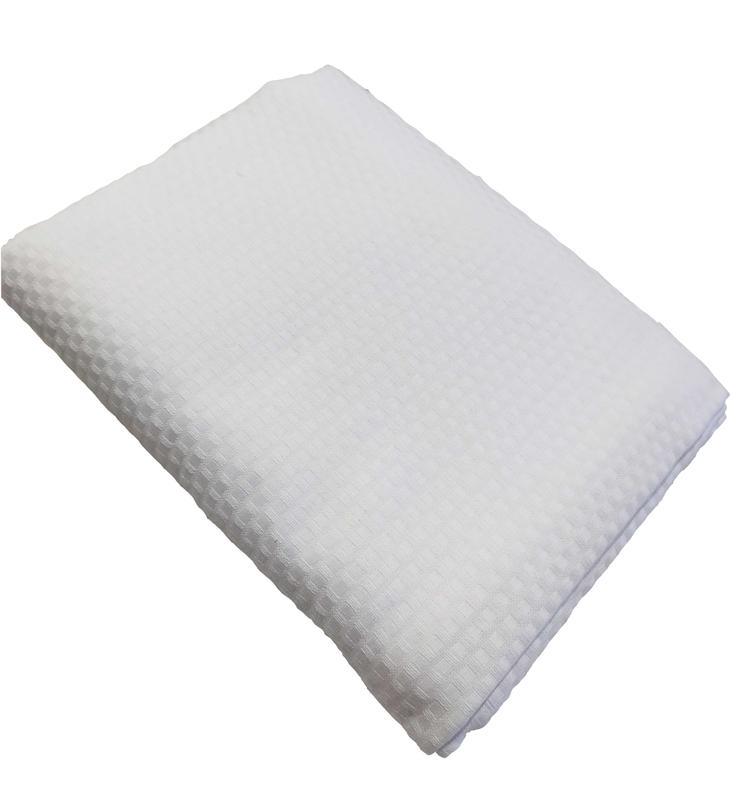 Λευκή Κουβέρτα Πικέ Ημίδιπλη Sanforized 170Χ230 - 1614-1