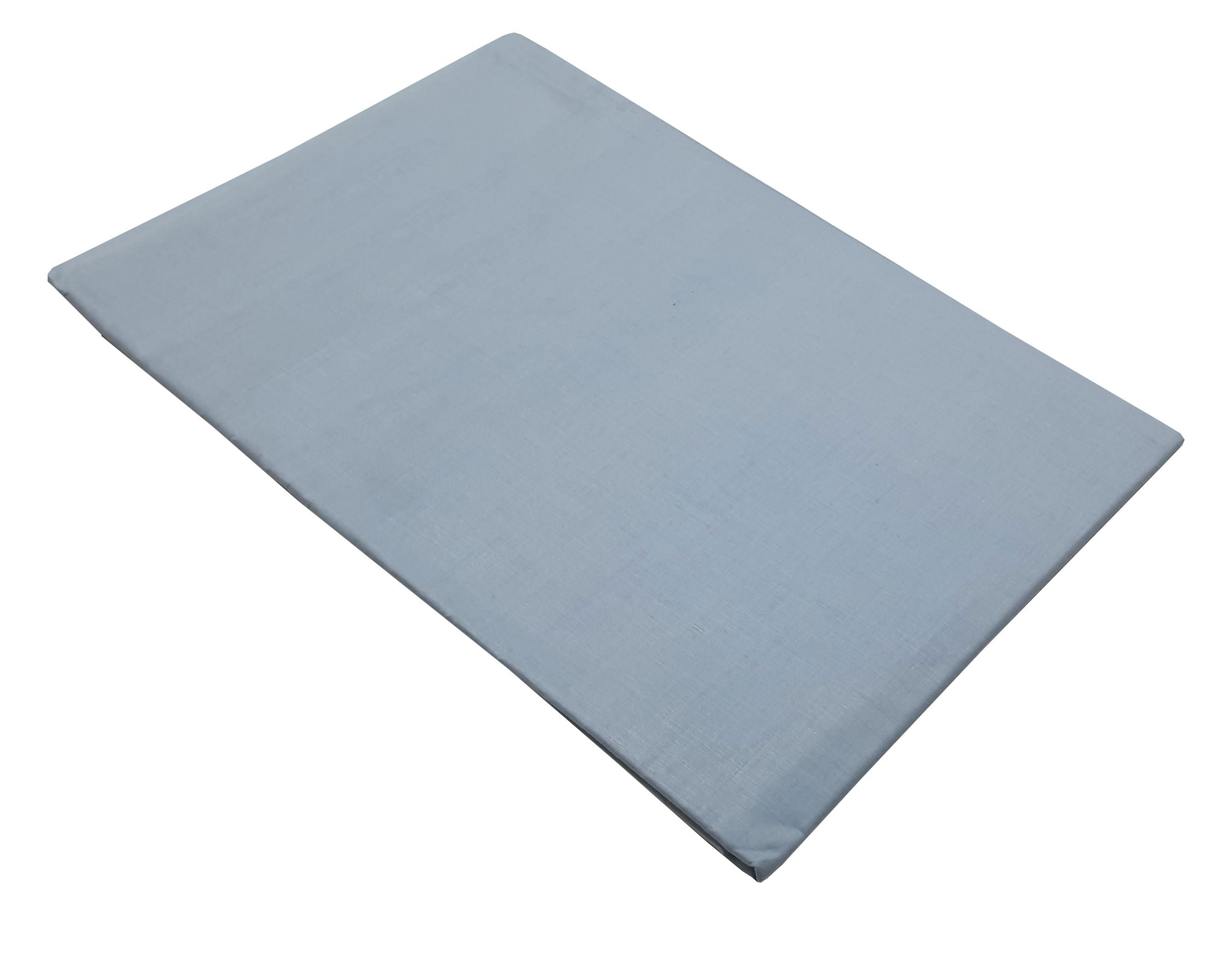 Ζεύγος Mαξιλαροθήκες ΚΟΜΒΟΣ Γαλάζιες Mονόχρωμες 50x70  - 7000139-2