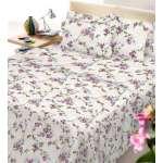 Σεντόνι Φανέλα Εμπριμέ Υπέρδιπλο 225Χ240 και Μαξιλαροθήκη Floral - 1441-3