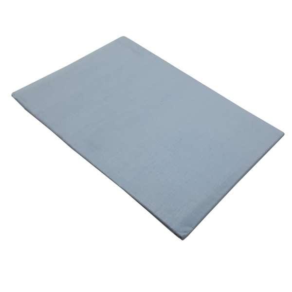 Σεντόνι ΚΟΜΒΟΣ Γαλάζιο μονόχρωμο Υπέρδιπλο με λάστιχο 170x200+20 - 7002201-2F