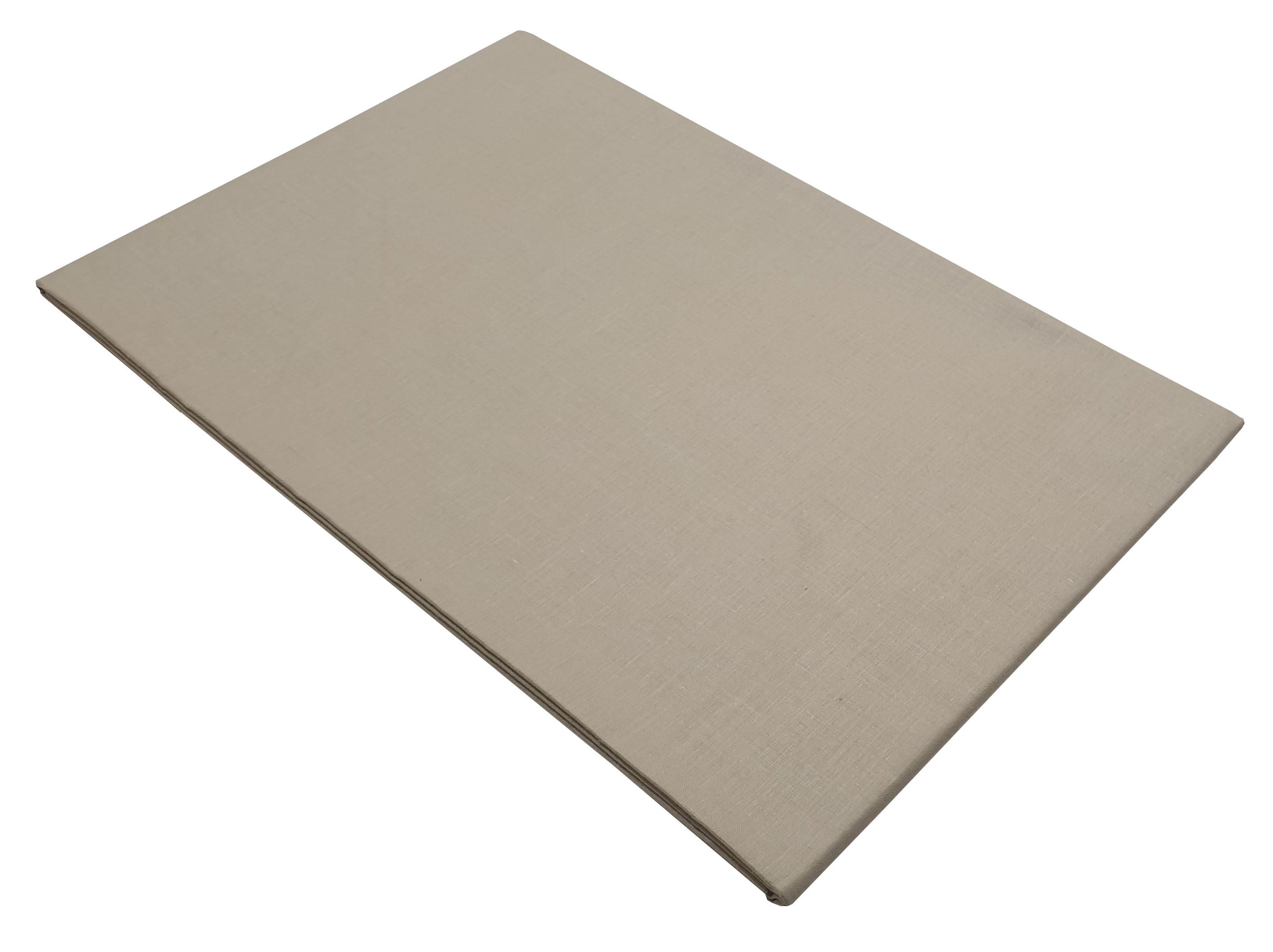 Σεντόνι ΚΟΜΒΟΣ Μπεζ μονόχρωμο Υπέρδιπλο με λάστιχο 170x200+20 - 7002201-4F